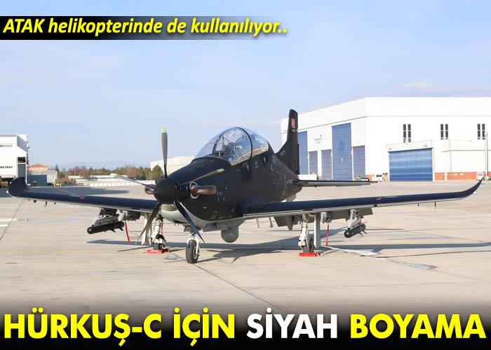 Hurkus C Icin Siyah Boyama Airturkhaber Com